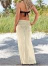 Sexy Women Crochet Hollow out Meshy Beachwear Boho Bikini