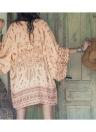 Femmes été chemise Kimono Beach Cover Up vêtements d'extérieur