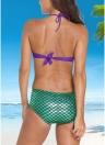 Sexy Swimwear Sereia Custom Underwire Push-Up conjunto de biquíni acolchoado