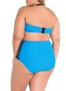 High Waist Bikini Plus Size Swimsuit