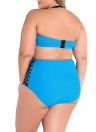 High Waist Bikini Plus Size Swimsuit