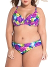 Floral Pop Sweetheart Bikini Plus Size Swimsuit