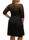 Sugar and Spice Plus Size Midi Dress