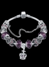 Color Crystal Beads Europe Combined Bracelet
