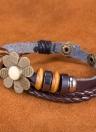 Nova moda jóias de couro Infinito bonito charme pulseira de prata lotes Estilo PickD