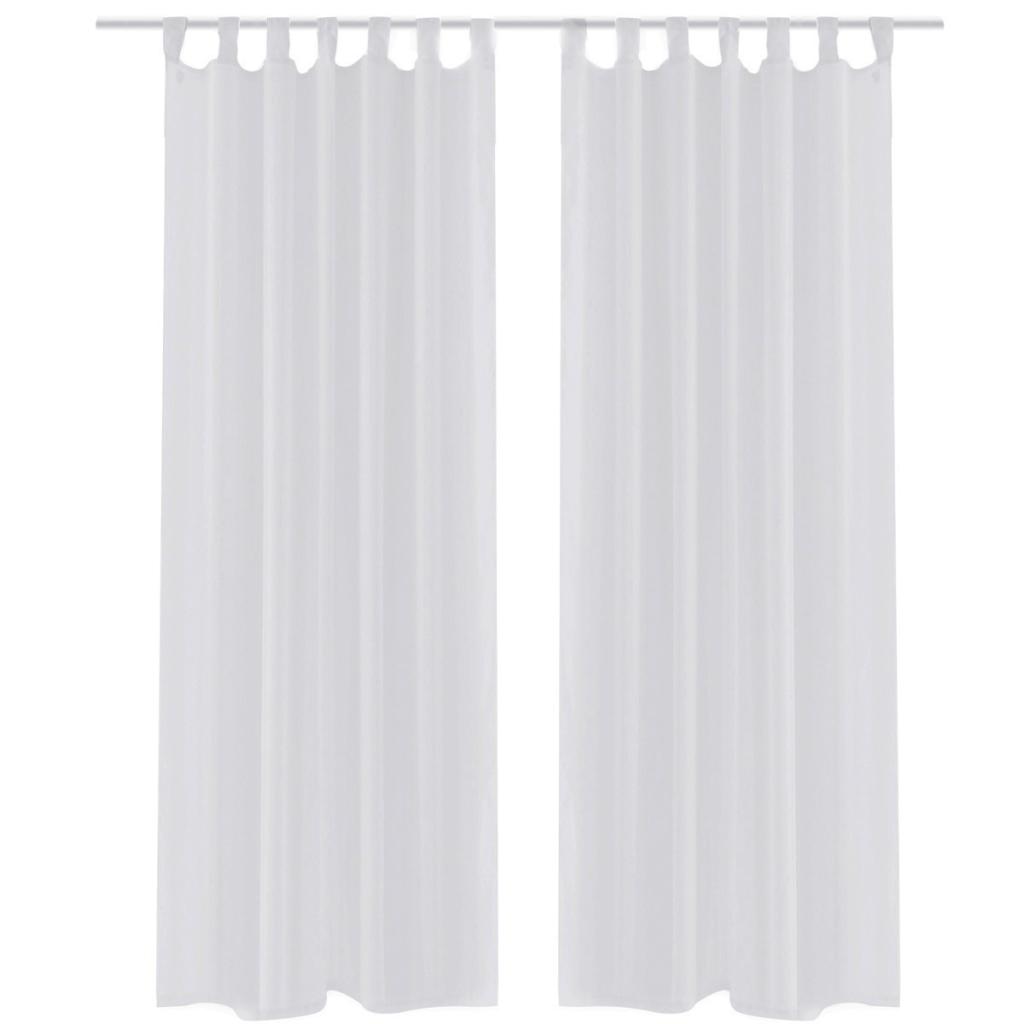 grommet curtain white fresh sheer curtains
