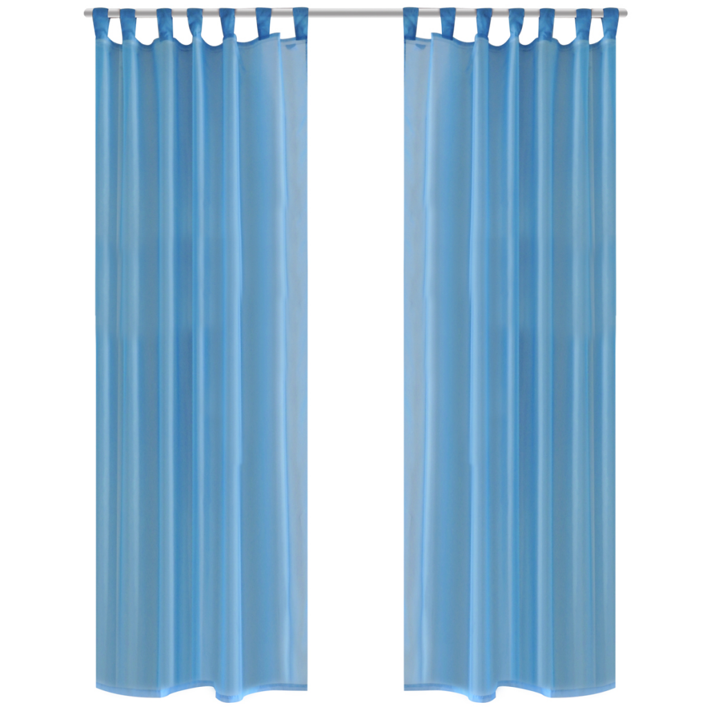 wide embroidered p leaves in elements x wavy grommet drapes w extra panel l window sheer curtain curtains turquoise