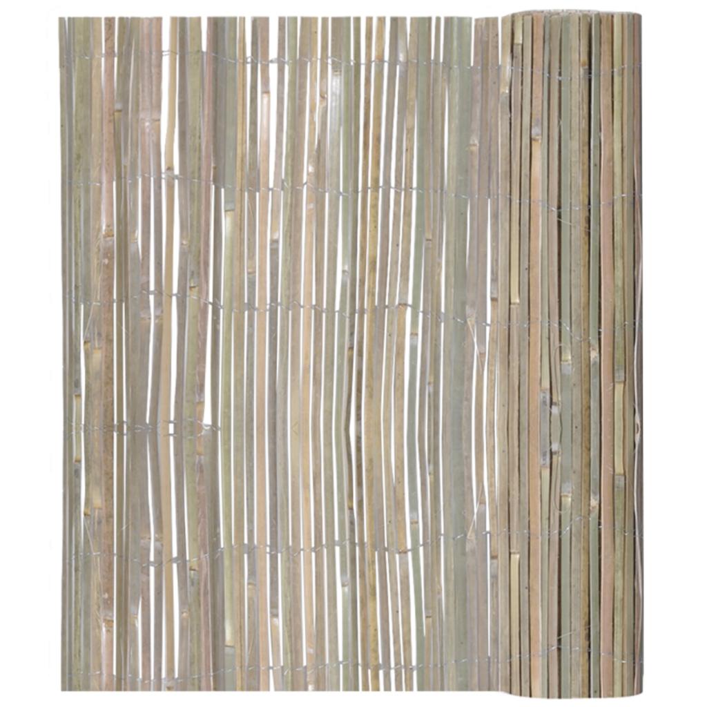 nur 23.82€, bambuszaun 100 x 400 cm - lovdock