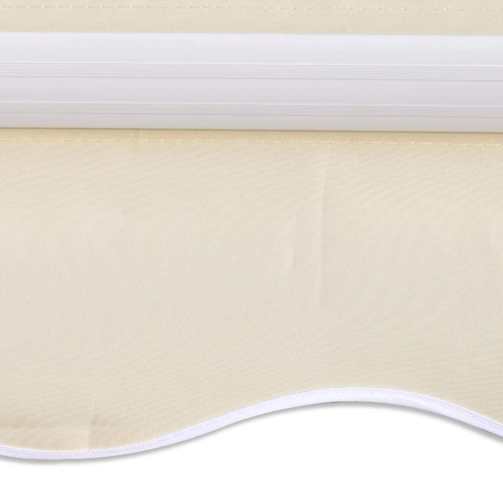 Nur 36.94€, Markise Top Sonnenschutz Leinwand Creme 3x2,5m (rahmen ...