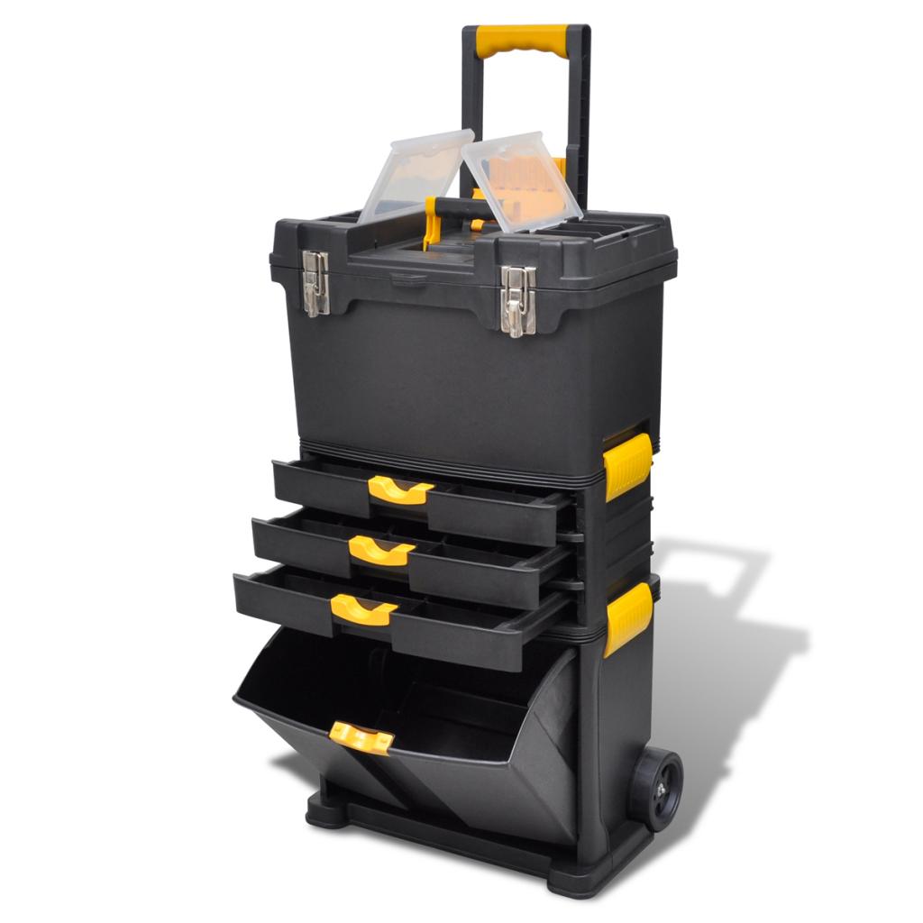 Trolley outils servante valise de rangement - Barbecue caisse a outil ...