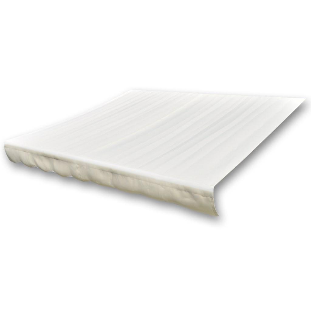 Toile pour store banne blanc cr me 6 x 3 m - Toile pour store banne ...