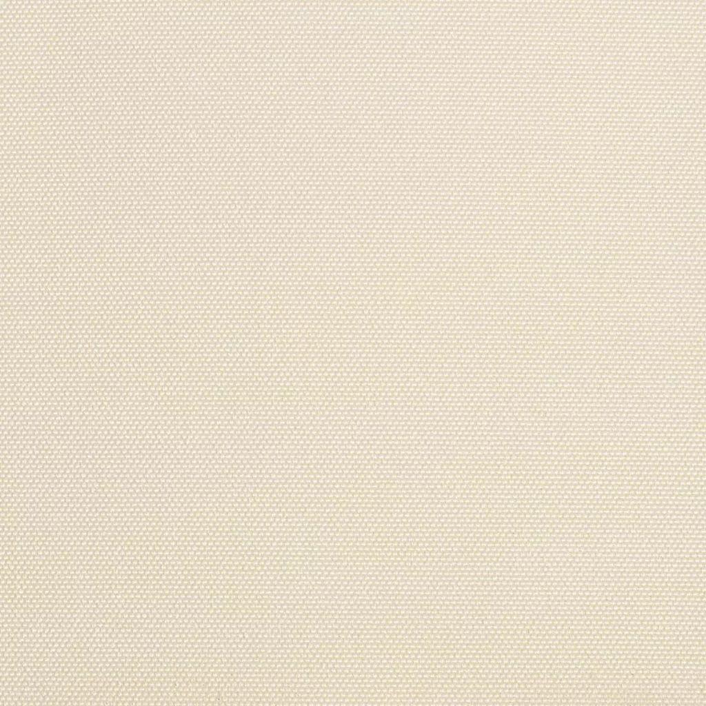 Weiße Leinwand Markise in Creme 6 x 3 m (rahmen nicht eingeschlossen)