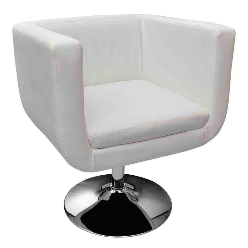 Fauteuil design club blanc for Fauteuil design blanc