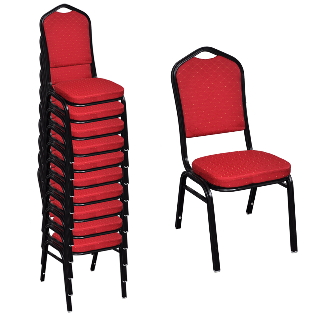 Red Upholstered Dining Room Chairs