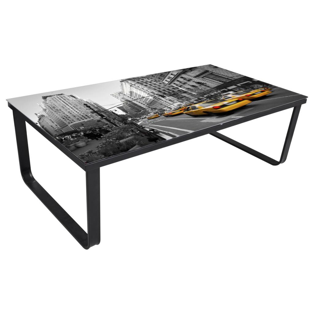 Sólo 40.53€, Rectangular Mesa Mesa lateral del sofá mesa de ...