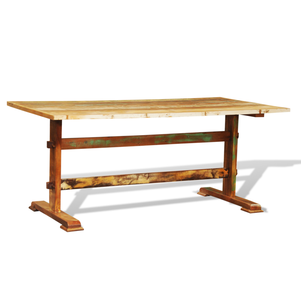 multicolor Reclaimed Wood Dining Table Vintage Antique  : 241095UK 5 BObD from www.lovdock.com size 1024 x 1024 png 297kB