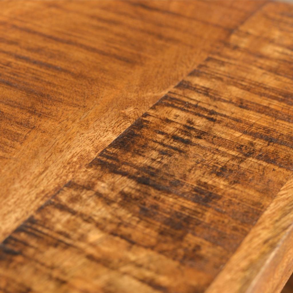 Antique Style Mango Wood Set Of 3 Nesting Tables