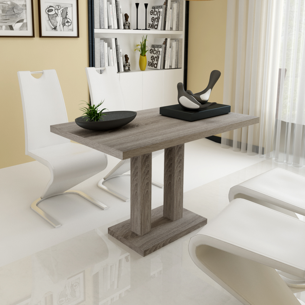 Beau Dining Table MDF Oak Look
