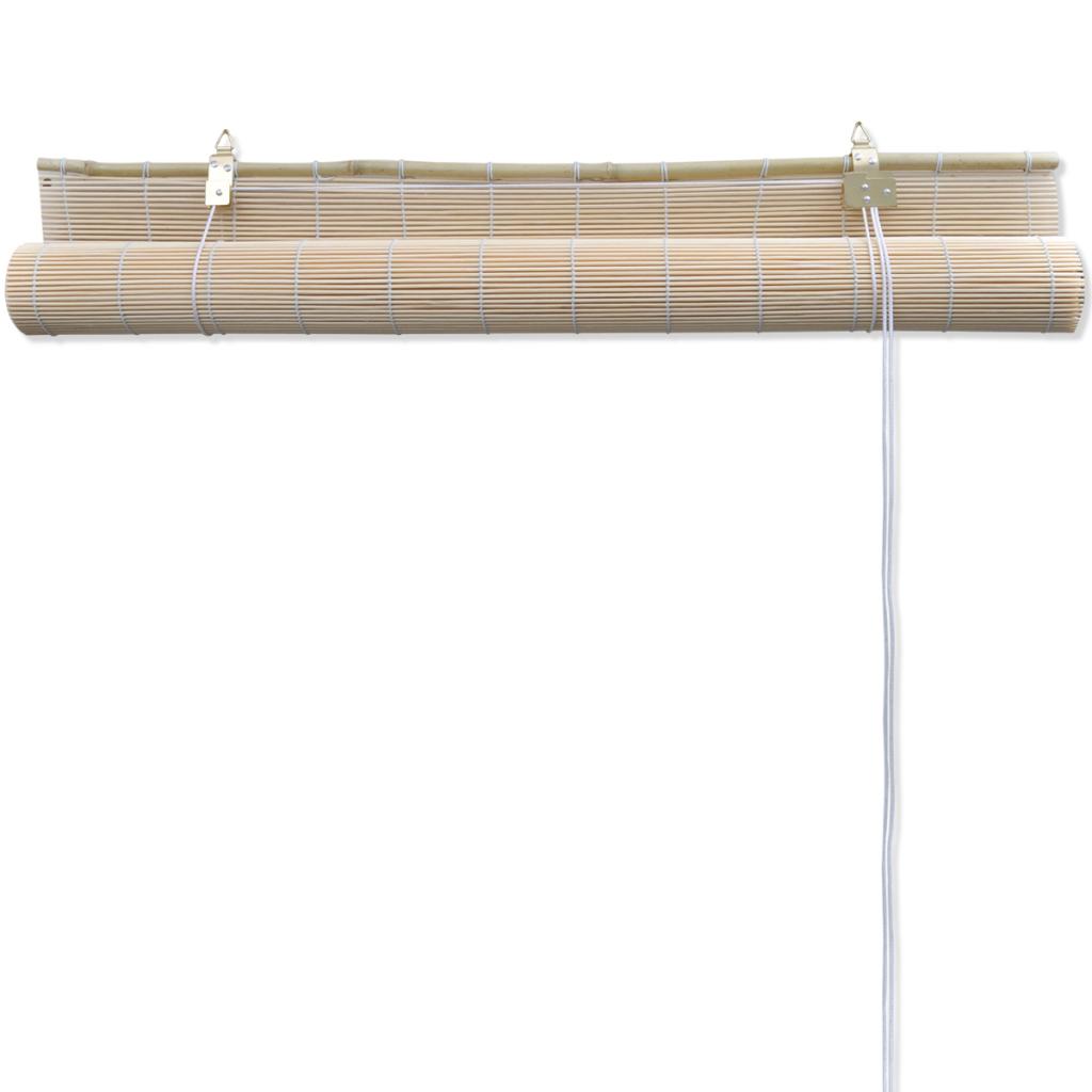 Natural Bamboo Roller Blind 140 X 160