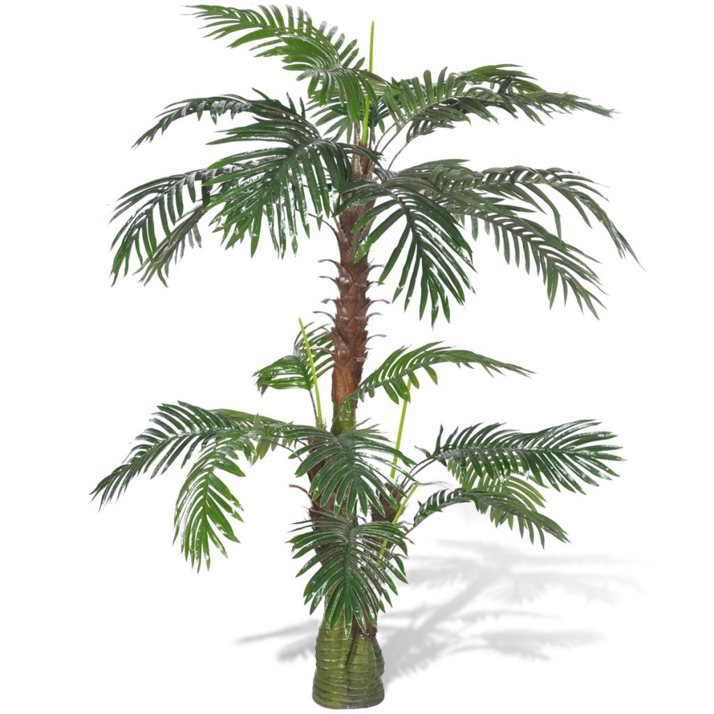 Solo pianta artificiale cycus palma 150 cm for Pianta palma