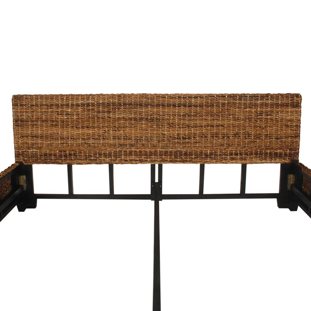 Nur 330.73€, Handwoven Abaca Rattan-Bett 180 x 200 cm - LovDock.com