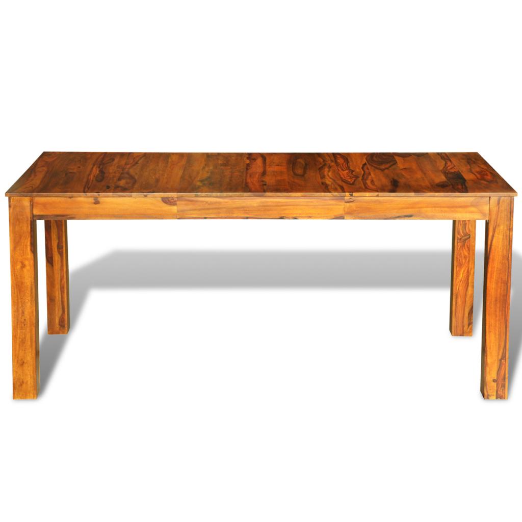Nur 298.66€, Sheesham Massivholz-Esstisch 180 x 85 x 76 cm - LovDock.com
