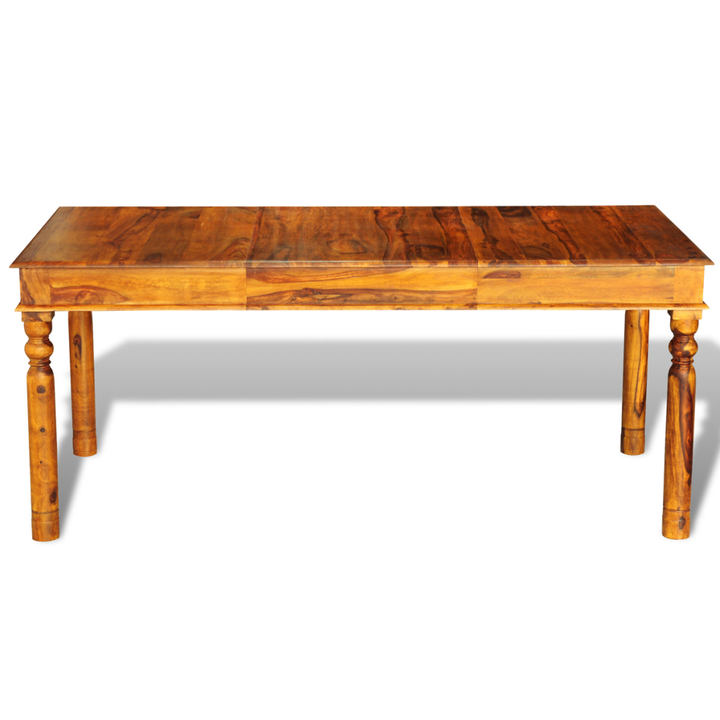 Sheesham Solid Wood Colonial Style Table 180 X 85 X 76 Cm