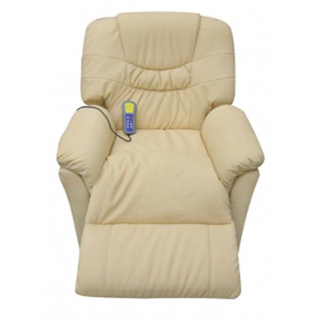 Sólo 219.05€, Crema eléctrica silla de masaje del cuero artificial ...