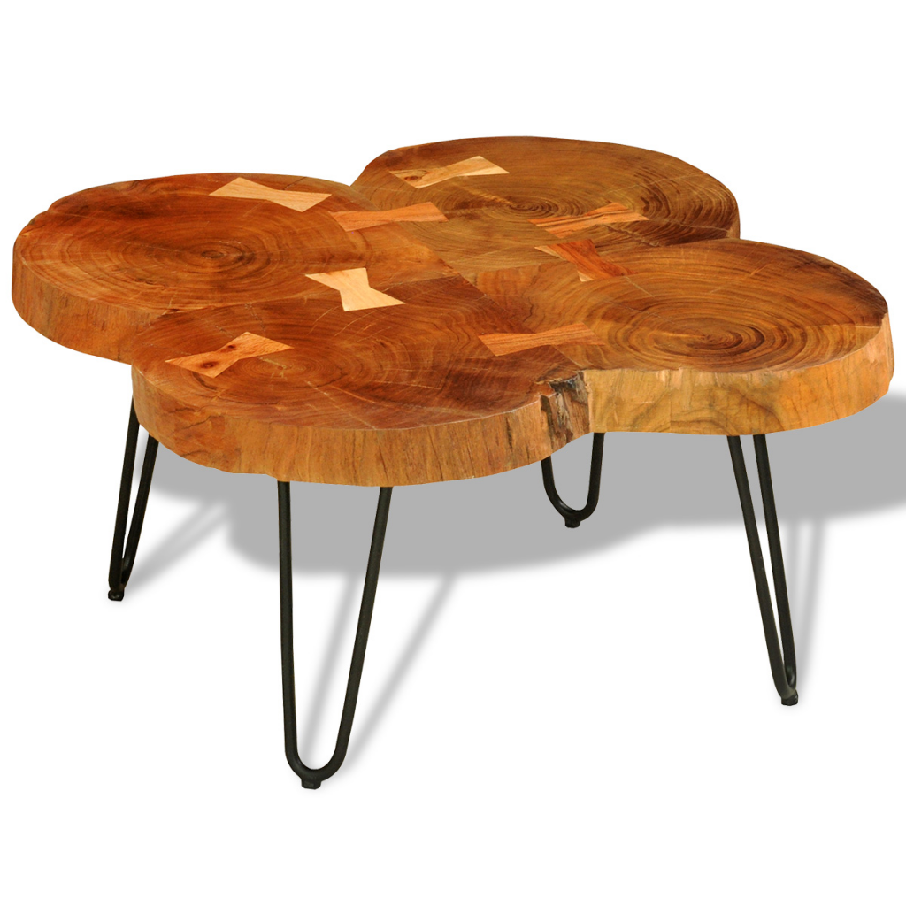Malle Comme Table Basse only 114.59€, café massif sheesham bois table side table 35 cm 4 malles -  lovdock