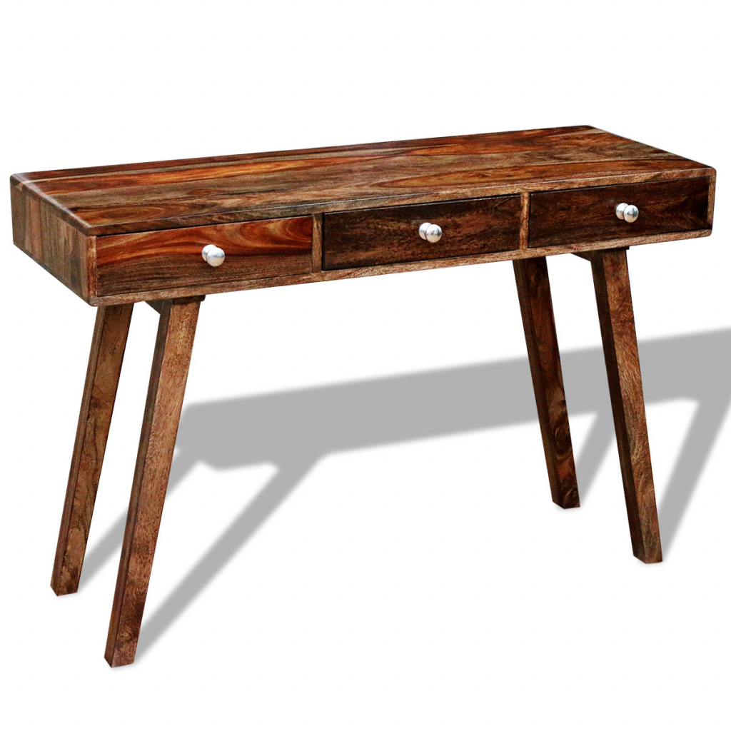 Wood solid sheesham wood sideboard console tablecabinet vintage solid sheesham wood sideboard console tablecabinet vintage 76 cm geotapseo Image collections