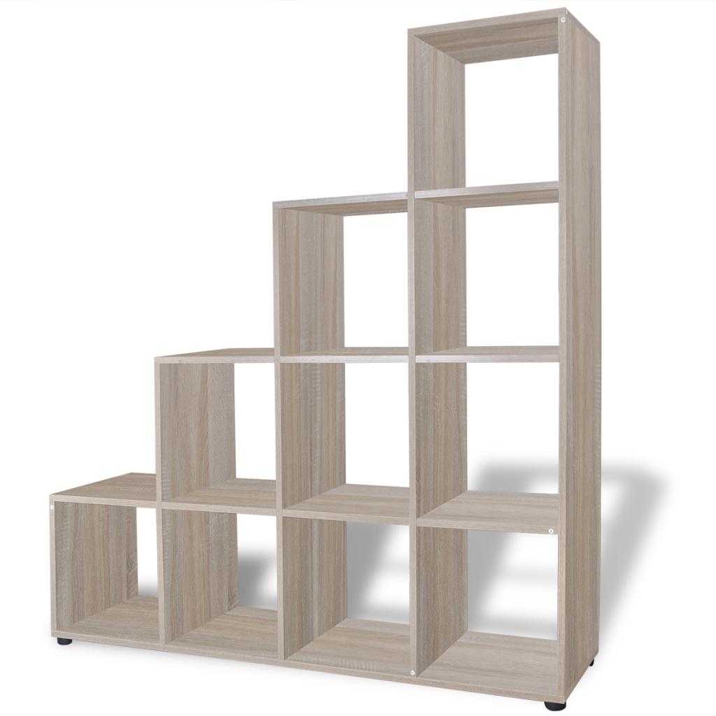 moderne treppe bucherregal, nur 114.66€, treppe bücherregal / anzeigen-regal 142 cm eiche, Design ideen