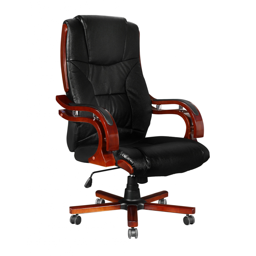 fauteuil ajustable design r tro noir. Black Bedroom Furniture Sets. Home Design Ideas