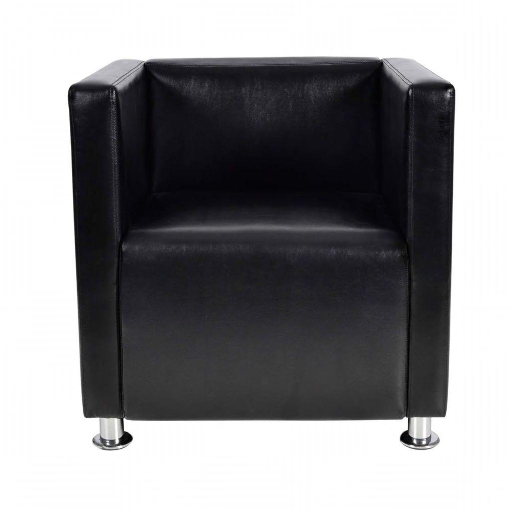 Fauteuil Club Design Noir