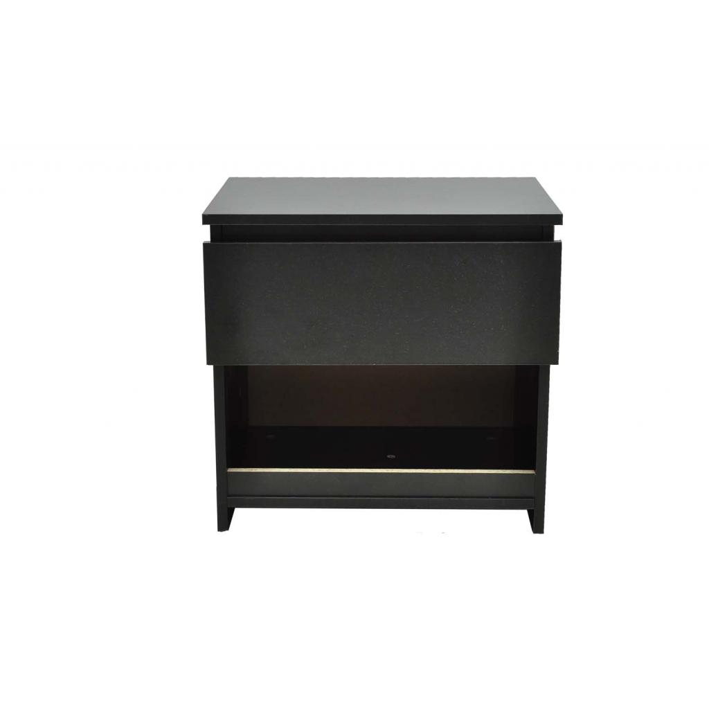ensemble de tables de chevet noir. Black Bedroom Furniture Sets. Home Design Ideas