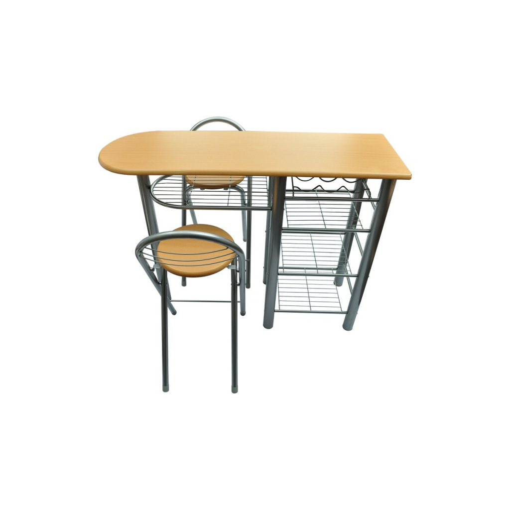 Table bar avec 2 chaises - Cuisine table bar ...
