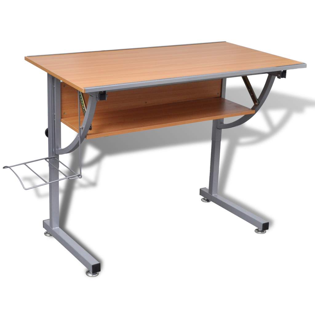 table dessin avec plateau inclinable. Black Bedroom Furniture Sets. Home Design Ideas