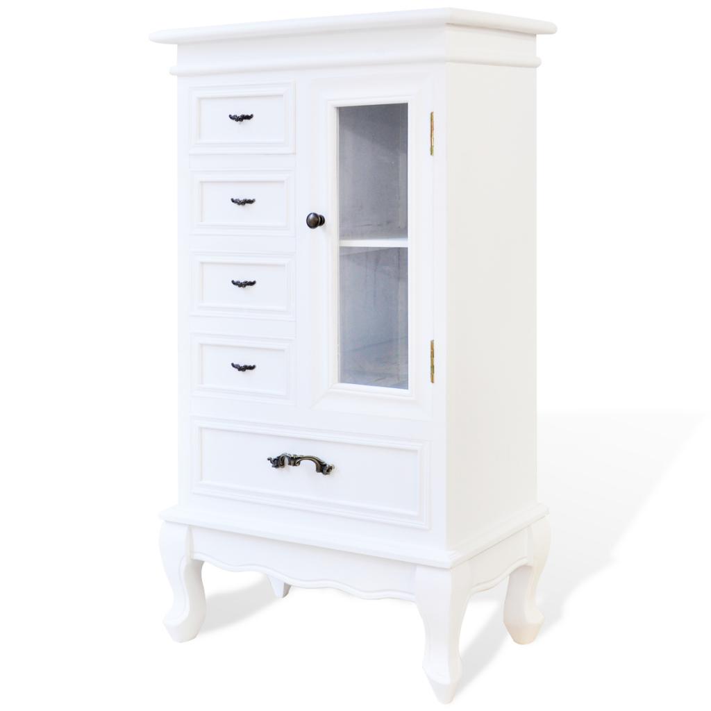Meuble de rangement blanc for Armoire bureau blanche