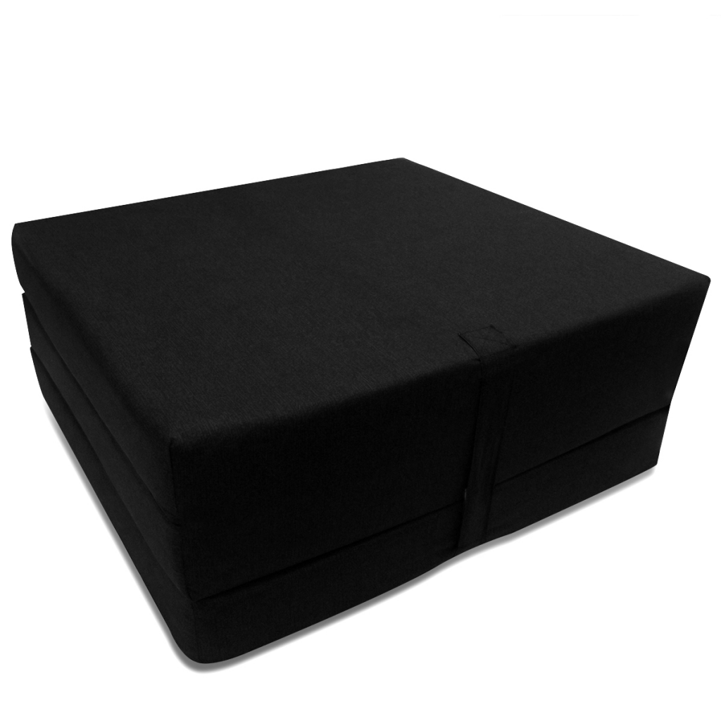 matelas pliable noir. Black Bedroom Furniture Sets. Home Design Ideas