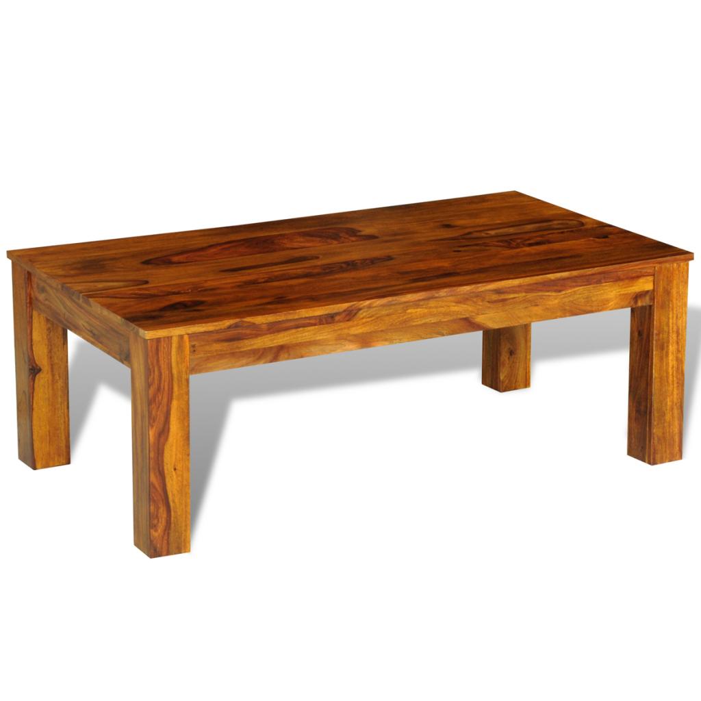 Table basse en palissandre massif for Table basse palissandre