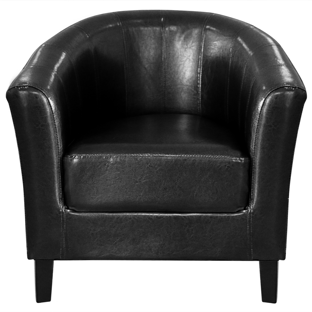 fauteuil chesterfield fauteuil cabriolet noir interougehome. Black Bedroom Furniture Sets. Home Design Ideas