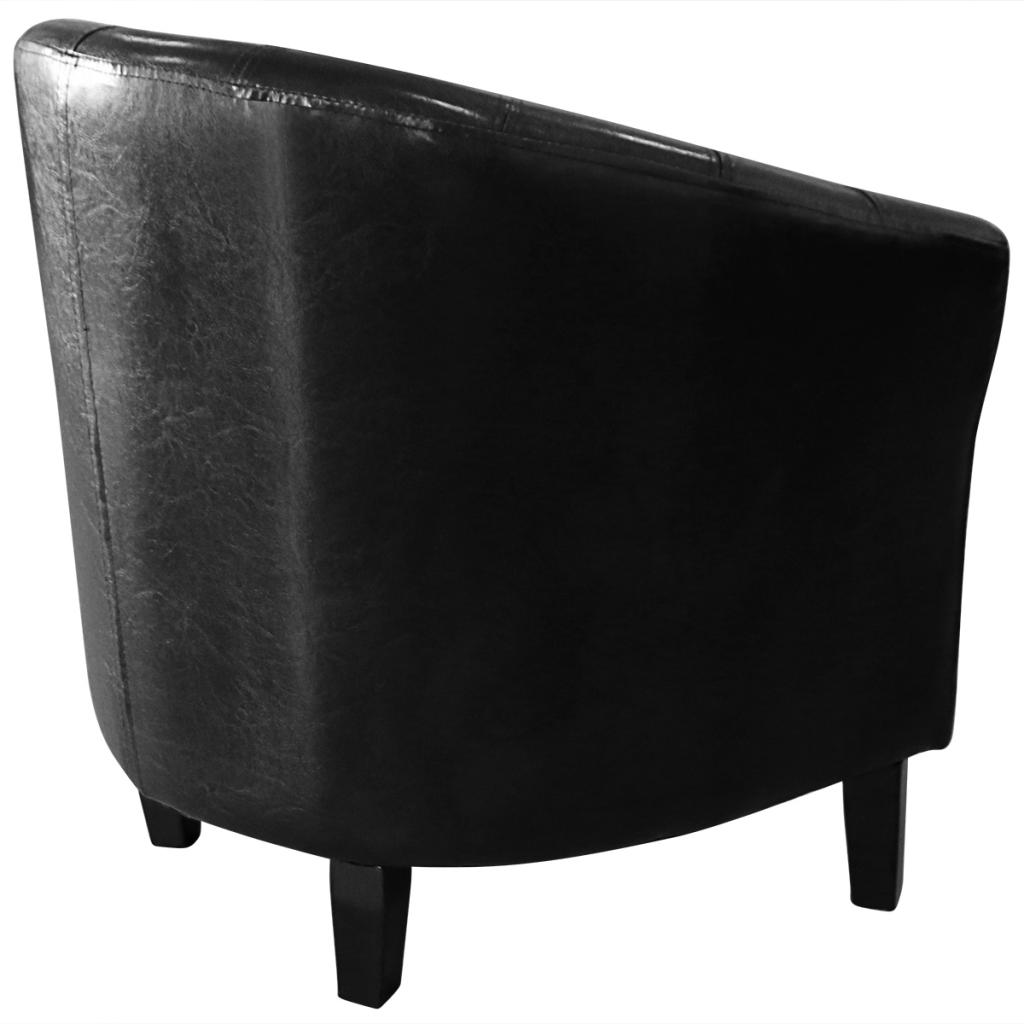 Fauteuil chesterfield fauteuil cabriolet noir interougehome for Miroir mural 2m