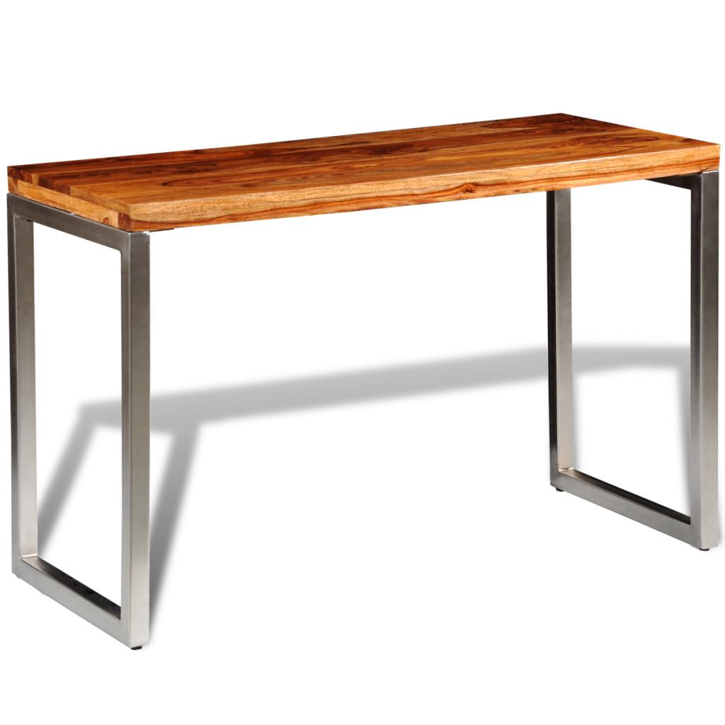 bureau en bois de palissandre. Black Bedroom Furniture Sets. Home Design Ideas