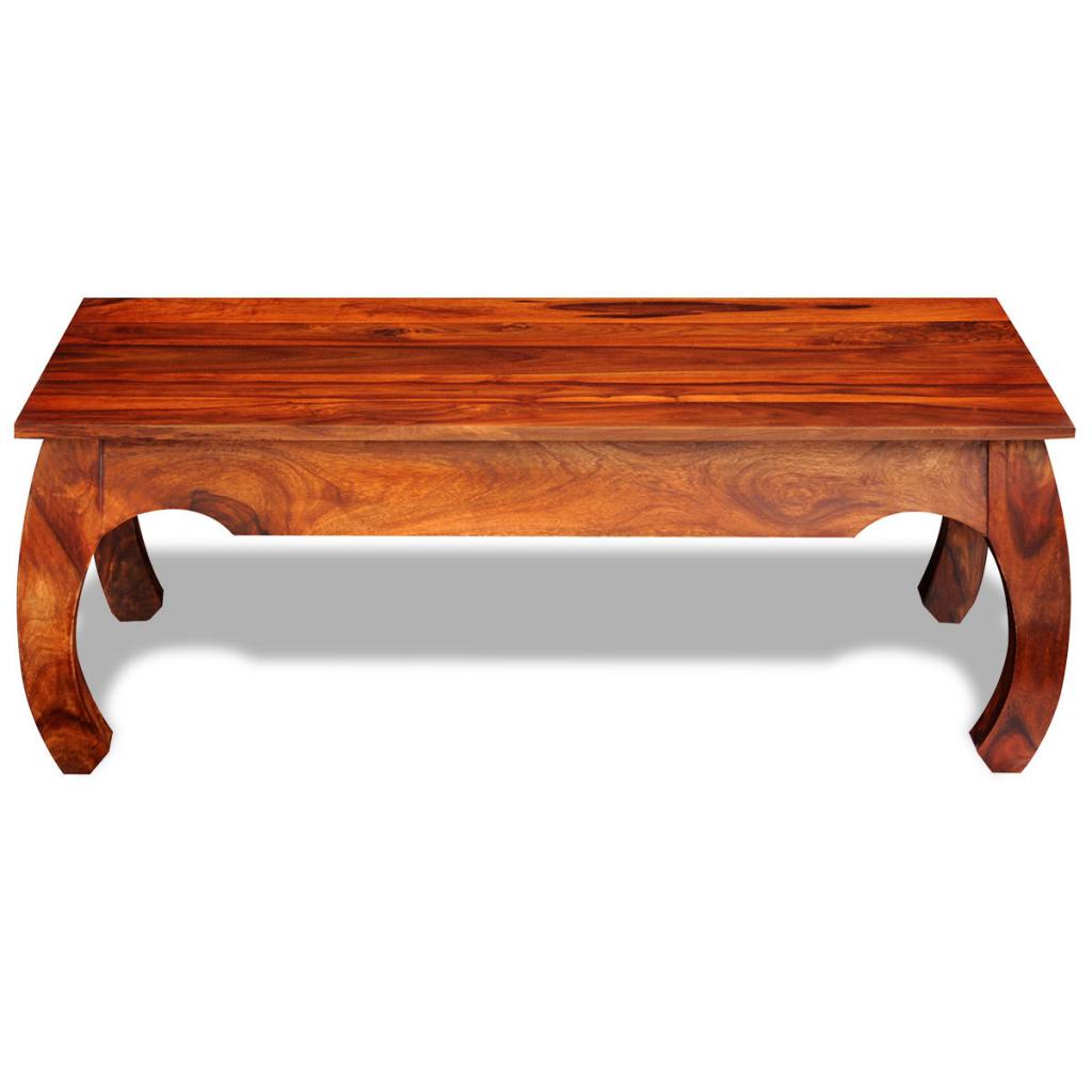 d s table basse table basse en bois massif de sheesham. Black Bedroom Furniture Sets. Home Design Ideas