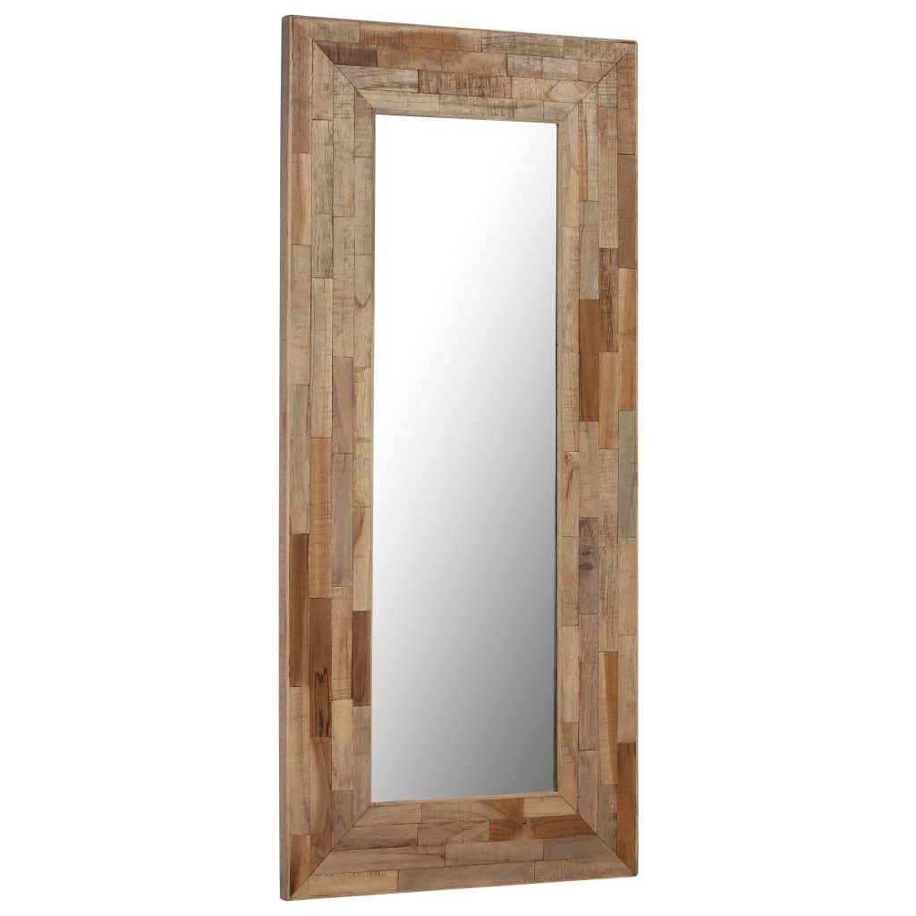 Miroir Teck Recyclé 50 X 110 Cm