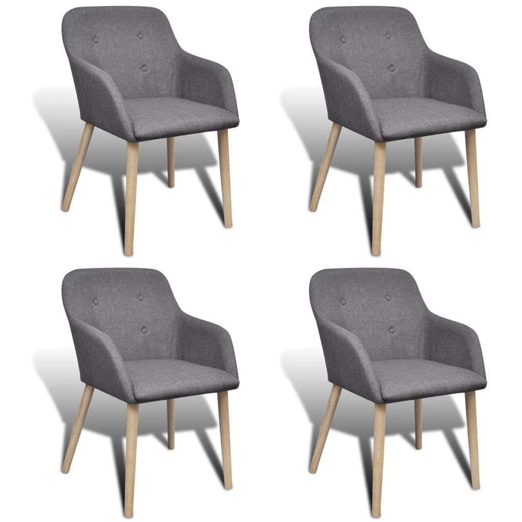Dès 309.99€, Lot de 4 fauteuils de salle à manger style scandinave ...