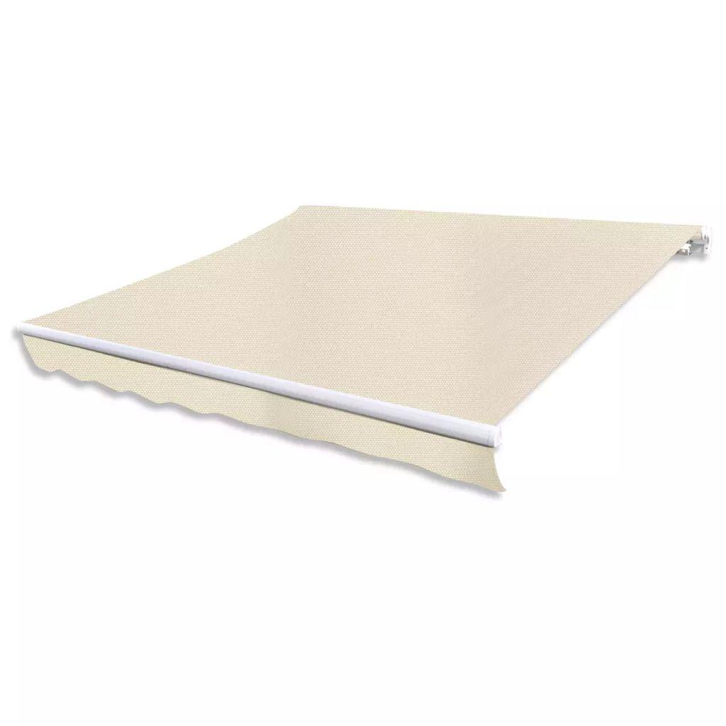 store banne auvent avanc e de toit pliable imperm able 6 m. Black Bedroom Furniture Sets. Home Design Ideas