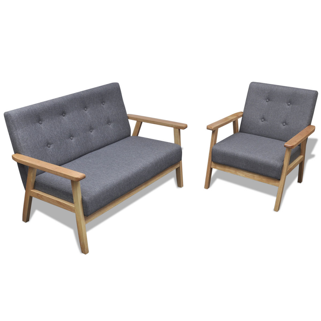 Lot de 43 fauteuils rétro en bois couleur gris - Fauteuil Retro