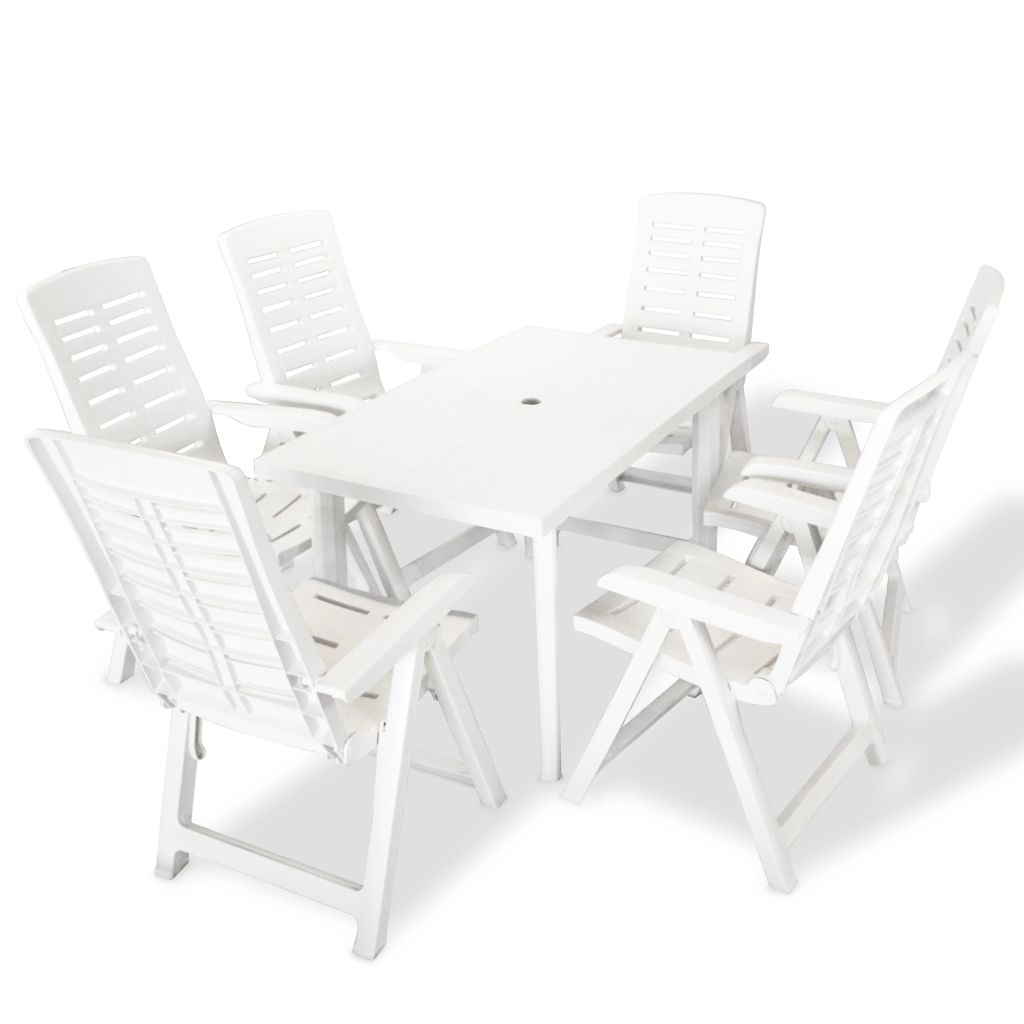Ensemble de table et chaises de jardin 6 personnes for Ensemble table et chaise 6 personnes