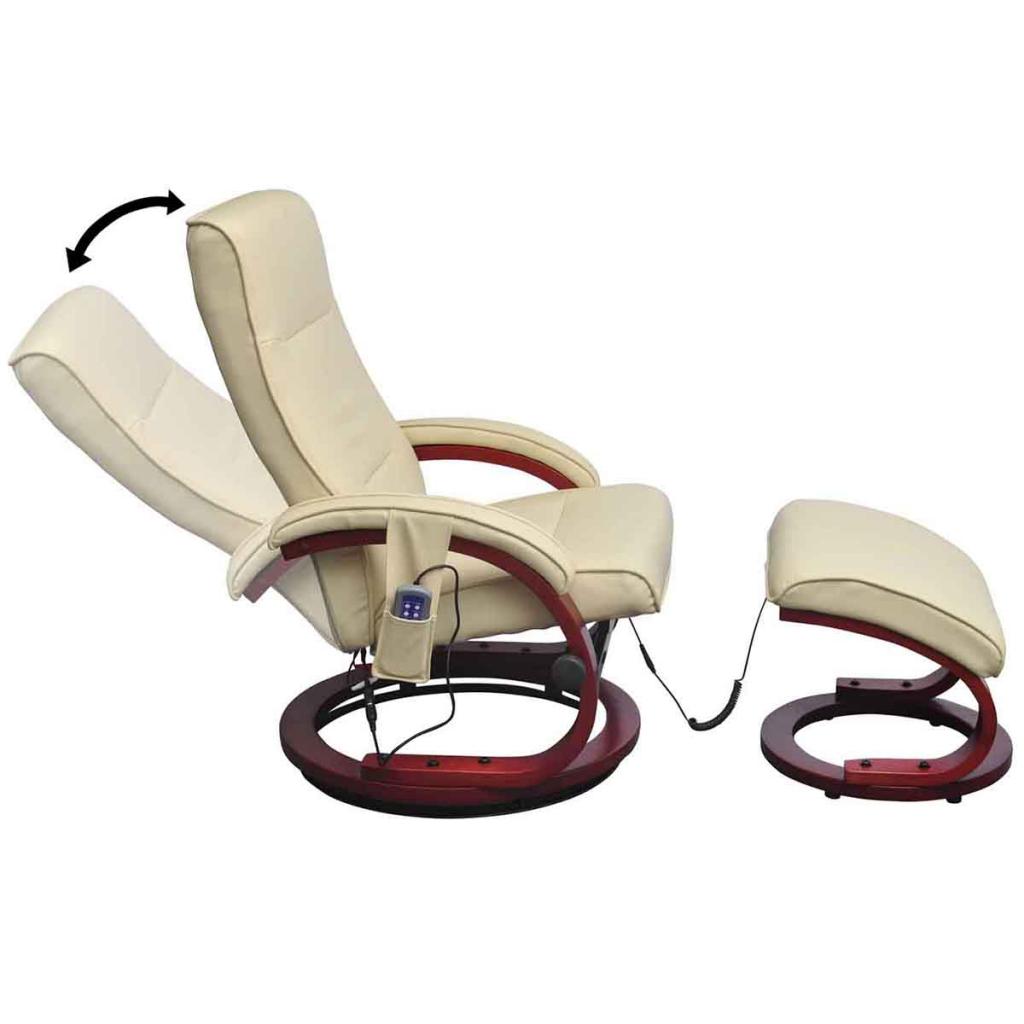 S lo crema blanco silla reclinable el ctrico tv - Silla 1 2 3 reclinable ...