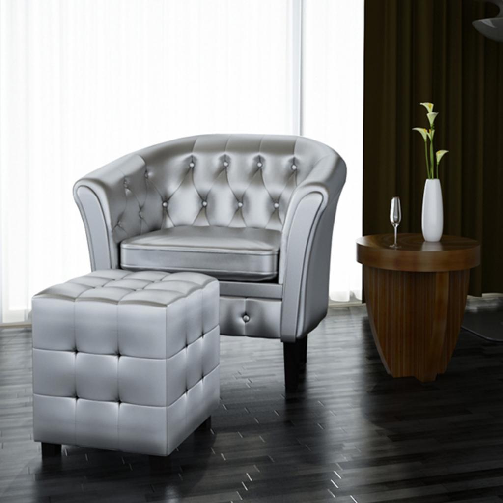 Solo 129.28€, Pelle artificiale Vasca sedia poltrona con ...